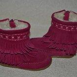 Ботинки сапожки Next 13.5 см 21 размер кожа Англия