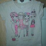 Стильная футболка девочке 8 лет