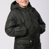 Демисезонная курточка трансформер для мальчика 134-152 рост