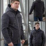 48-58, Мужская куртка с капюшоном демисезонная, Куртка молодежная деми. Чоловіча куртка демі