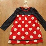 Красивое нарядное платье для девочки 5-6лет.