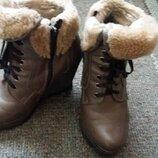 Зимние ботинки на цыгейке