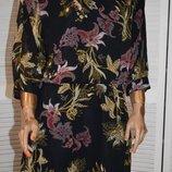 шифоновое платье в цветочный принт M By Souitos