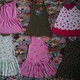 Яркие,летние платья,сарафаны для девочки 4-5 лет