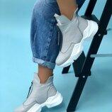 Женские ботиночки Grey