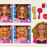 Кукла - голова Barbie 357/338-1/348-1/358-3 Манекен для причесок и макияжа