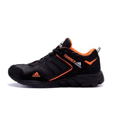 Мужские кожаные кроссовки Adidas Terrex Orange
