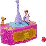 Jewelry Box Fancy Nancy музыкальная шкатулка Необычная Нэнси с колечком Set Disney