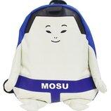 Рюкзак мультяшный принт сине-белый борец сумо mosu унисекс