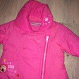 Брендовая Деми курточка куртка для маленькой модницы