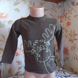 футболка 2-3 года, 92-98 см, TU