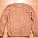 Утепленный свитер, полувер, реглан, на 7/8 лет, 122/128 рост