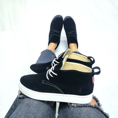Распродажа Универсальные натуральные кожаные женские ботинки слипоны на шнуровке
