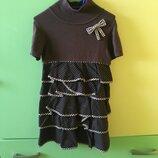 Платье болеро костюм 6 лет 114 см Tutto piccolo
