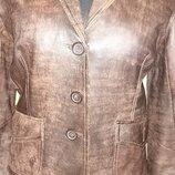 Курточка - пиджак кожа натуральная. Р48- 50