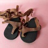 Сандалии для куклы, обувь Annette Himstedt