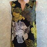 Блузка-Майка в цветы next