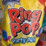 Леденцы с огромным привлекательным конфетным камнем Ring Pop Party Pack 280 g