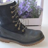Кожаные ботинки Timberland р. 36 стелька 23 см