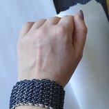 Плетеный браслет. Ручная работа