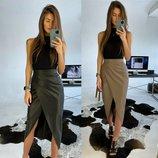 Стильная юбка две расцветки
