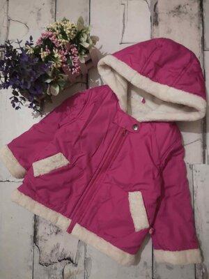 Куртка евро-зима 80-86 см, демисезонная детская куртка, весенняя куртка на девочку, куртка детская