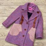 Супер новинка Пальто для малышек. Размеры 116-134