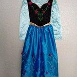 Платье Disney Store Анна Холодное сердце карнавальный костюм