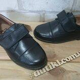 Якісні шкіряні туфлі для хлопчиків Тм Braska