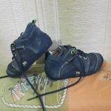 Демисезонные кожаные ботиночки Lurchi оригинал р. 24, стелька 15см