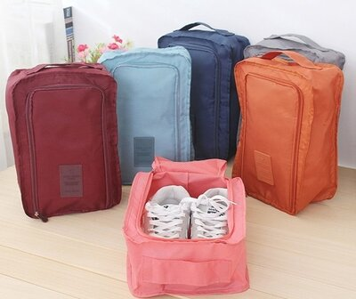 Дорожный органайзер сумка чехол для обуви, в зал или на пляж.