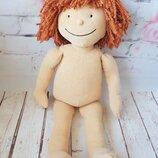 Мягкая кукла тильда вальдорфская кукла 50 см