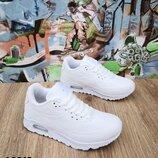 Белые кроссовки унисекс