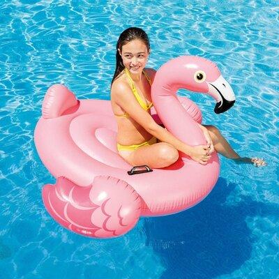 Плотик надувной Розовый Фламинго, Intex 57558