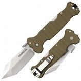 Складной нож от компании Cold Steel. Модель Immortal OD Green 23HVG CPM-S35VN. Оригинал