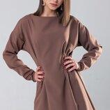 Платье свободного кроя Марселия. Размеры 42-44,44-46.