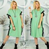Платье-Туника Лора. Размеры 48-52 54-58.
