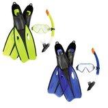 Ласты и маска Bestway Набор для плавания 25021