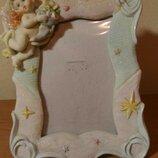 Фоторамка, рамка для фотографии с ангелочком