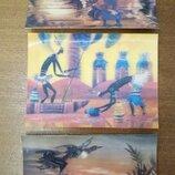 Объемные открытки. За три
