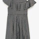 Шикарное нарядное переливающиеся платье Zara на 10 и 11-12 лет