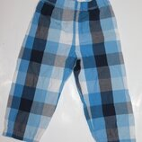 Пижамные хлопковые штаны на 2-3 года