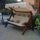 Садовые качели Монако - уличная мебель VIP класса. Доставка по Украине Тел 0677282804