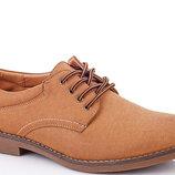 Туфли мужские коричневые
