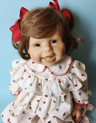 Малышка Glückskind кукла Brigitte Leman Zapf