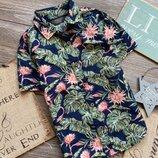 Рубашка с папоротниками Primark 3-4г