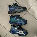 Кроссовки для мальчиков для мальчика синий черный зеленый серый