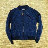 Куртка бомбер,ветровка Primark,рост 116 см 5-6 лет .