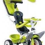 Велосипед детскийSmoby Baby Balade зелений 741100