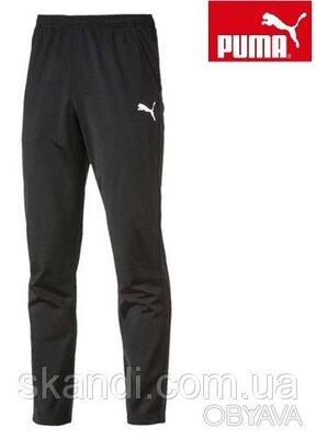 Puma оригинальные крутые спортивные брюки, штаны р. 46-48 М - смотрите замеры. Новые, со всеми бир